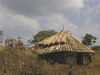 Traditionelle Bauweise im Süden