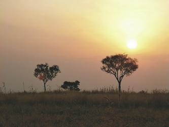 Landschaft im Süden Äthiopiens