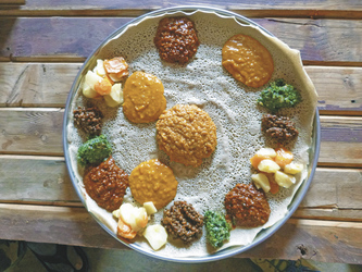 Injera - traditionelles Gericht