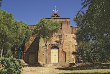 Kirche in Wukro, ©Eileen Helke, DIAMIR Erlebnisreisen