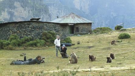 Bei den Dscheladas in den Semien-Bergen, ©Bernhard Vogt, DIAMIR Erlebnisreisen
