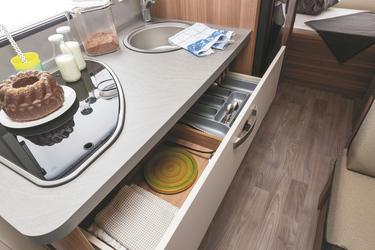 Küchenblock mit Stauraum, ©Christian Haasz, werbeFOTO HAASZ GbR