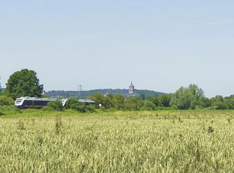 Blick auf die Schwanenburg Kleve
