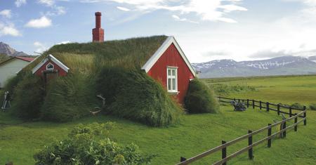 Europa Island Hütte Bordajordur Grad