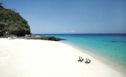 Strand von Madagaskar