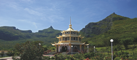 Chinesische Pagode in Port Louis