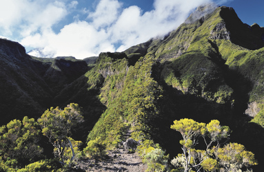 Berglandschaft auf La Réunion