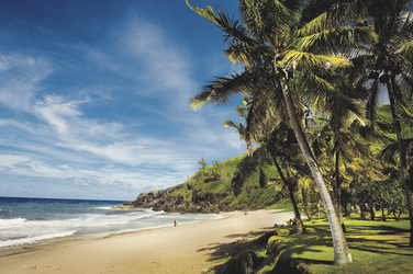 Strand auf La Réunion