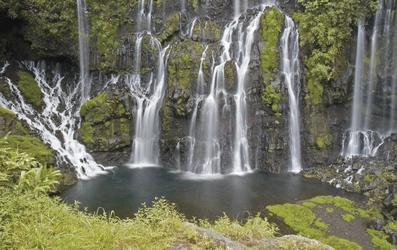 Unzählige Wasserfälle auf La Réunion