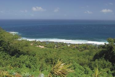 Blick auf Grande Anse