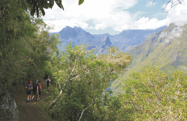 Wandern auf La Reunion, ©IRT/Emmanuel VIRIN