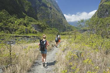 Zu Fuß die Insel erkunden