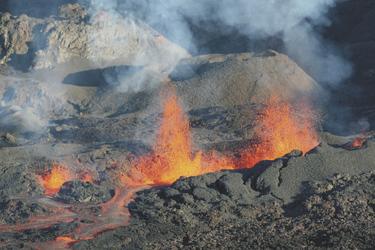 aktiver Vulkanismus auf La Réunion
