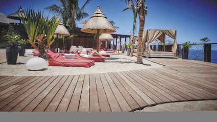 Relaxen am Kah Beach