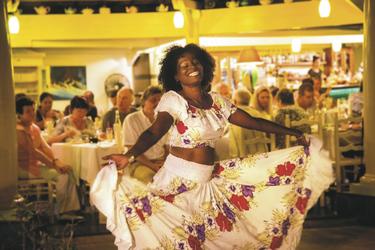 Lebensfreude beim Le Mayola