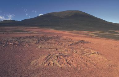 Vulkanlandschaft auf La Réunion