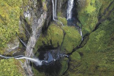Wasserfälle auf La Réunion