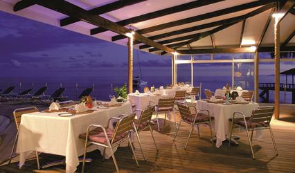 Restaurant auf der Terrasse
