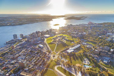 Halifax von oben, ©Tourism Nova Scotia