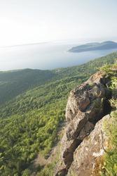 Küstenabschnitt in Quebec