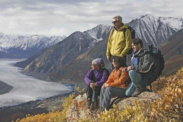Wanderung im Kluane Nationalpark, ©Government of Yukon