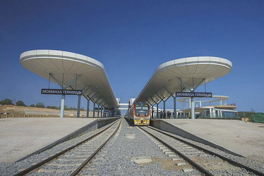Bahnhof in Mombasa