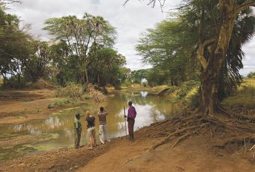 Fußpirsch im Tsavo