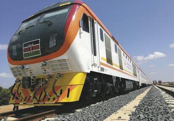 Mit der Eisenbahn in Kenia unterwegs