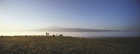 Sundowner am Kilimanjaro