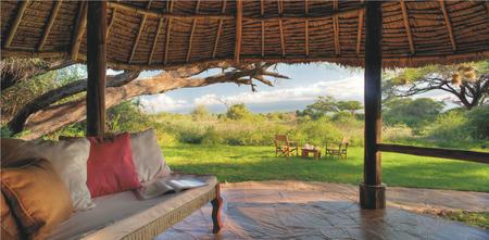 Tortilis Camp im Amboseli NP
