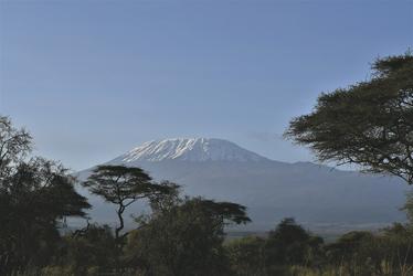 Der schneebedeckte Kilimanjaro