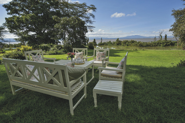 Loldia House am Lake Naivasha, ©Governors'