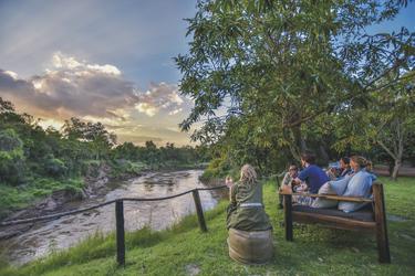 Sundowner am Fluss, ©Governors'