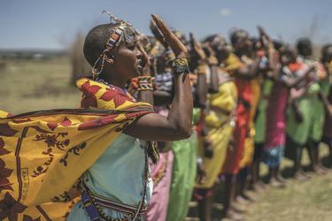 Masai im Governors' Il Moran Camp, ©AlexStacanov.com