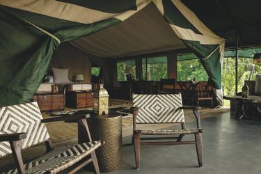 Safarizelt im Il Moran Camp, ©Governors'
