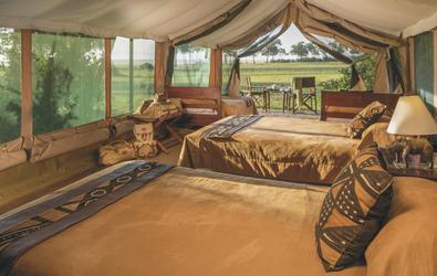 Safarizelt im Governors' Camp, ©Niels van Gijn / Silverless