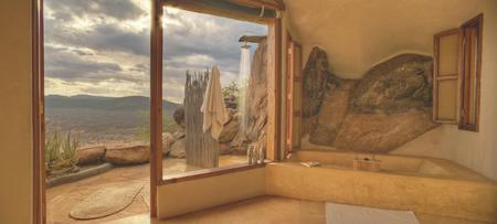 Badezimmer einer Villa