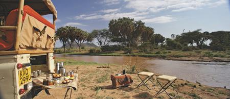Buschfrühstück im Samburu