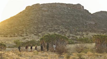 Nashorn Tracking im Sera Schutzgebiet