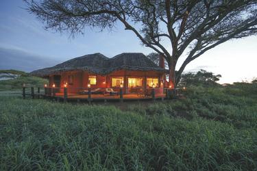 Luxuriöse Cottages erwarten die Gäste