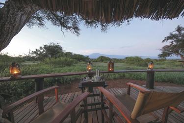 Blick bis zum Kilimanjaro