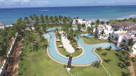 Weitläufiges Resort direkt am Ozean