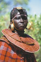 Dame in Kenia