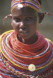 Masai Mädchen