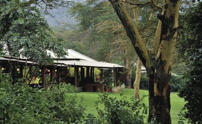 ©Serena Safari Lodges; Gartenanlage