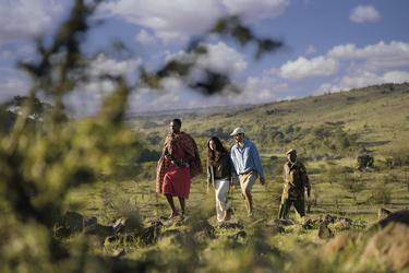 Zu Fuß mit den Masai unterwegs
