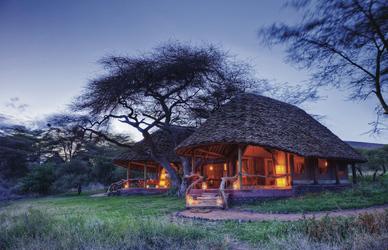 Safarizelt mit Makutidach
