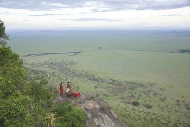 Die Weite der Masai Mara genießen, ©Georgina Goodwin