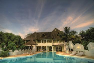 Das Haupthaus, ©Msambweni House