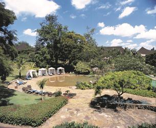 Großzügiger Garten in Nairobi